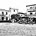 Arzachena Square by Giuseppe Cocco