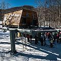 At The Ski Resort by Alex Grichenko