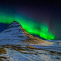 Aurora Borealis Or Northern Lights by Panoramic Images