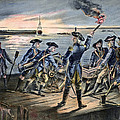 Battle Of Long Island, 1776 by Granger