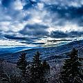 Blue Ridge Parkway Winter Scenes In February by Alex Grichenko