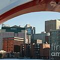 Calgary Peace Bridge by Helen  Bobis