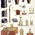 Chemistry equipment, early 19th century by Science Photo Library
