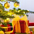 Christmas Tree Decorated With Presents by U Schade