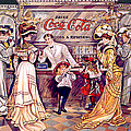 Coca - Cola Vintage Poster by Gianfranco Weiss