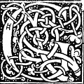 Decorative Initial G by Granger