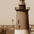 Delaware Breakwater Lighthouse by Skip Willits