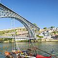 Dom Luis Bridge Porto Portugal by Jacek Malipan