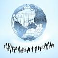 Global Community by Andrzej Wojcicki