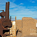 Harmony Borax Works Death Valley National Park by Fred Stearns