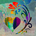Heart And Flowers by Marvin Blaine
