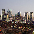 High Angle View Of A City by Panoramic Images