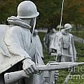 Korean War Memorial by Michael Shake