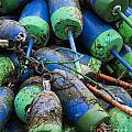 Lobster Buoys by John Greim