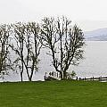 Loch Ness And Boat Jetty Next To Urquhart Castle by Ashish Agarwal