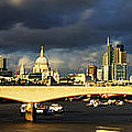 London  Skyline Waterloo  Bridge by David French