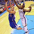 Los Angeles Clippers V Oklahoma City by Ronald Martinez