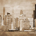 Manhattan Buildings Vintage by RicardMN Photography