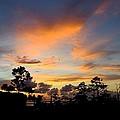 Outer Banks North Carolina Sunset by Richard Rosenshein