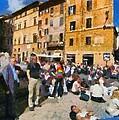 Piazza Della Rotonda In Rome by George Atsametakis