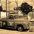 Route 66 - Shea's Gas Station by Frank Romeo
