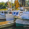 Shrimp Boats by Dale Powell