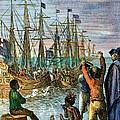 The Boston Tea Party, 1773 by Granger