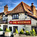 The Woodman Pub by David Pyatt