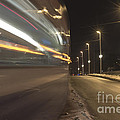 Tram At Night by Mats Silvan