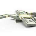 Us Dollar Notes by Sebastian Kaulitzki