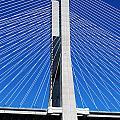 Vasco Da Gama Bridge In Lisbon by Luis Alvarenga
