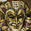 Venetian Carnaval Mask by David Smith