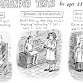 Recommended Tests For Ages 21+ by Roz Chast