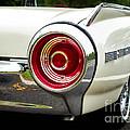 62 Thunderbird Tail Light by Jerry Fornarotto