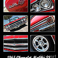 65 Malibu Ss Poster by Gary Gingrich Galleries