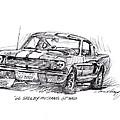 66 Shelby 350 Gt by David Lloyd Glover