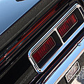 67 Black Camaro Ss Tail Light-8020 by Gary Gingrich Galleries