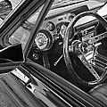 67 Mustang Interior by Gill Billington