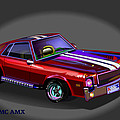 69 Amc Amx by Tommy Winn