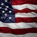 American Flag 52 by Les Cunliffe