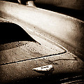 1959 Aston Martin Db4 Gt Hood Emblem by Jill Reger