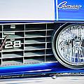 1969 Chevrolet Camaro Z-28 Grille Emblem by Jill Reger