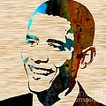 Barack Obama by Marvin Blaine