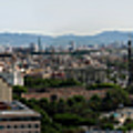 Barcelona Spain - Montjuic by Gregory Dyer