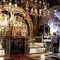 Church Of The Holy Sepulchre In Jerusalem by Sarka Olehlova
