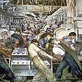 Diego Rivera - Detroit by Granger