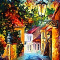 Evening by Leonid Afremov