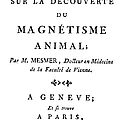 Franz Mesmer (1734-1815) by Granger
