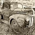 Old Truck by Paul Fell