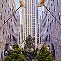 Rockefeller Center by Theodore Jones